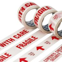 Printed Handle With Care Low Noise Packaging Tape 48mm x 66m